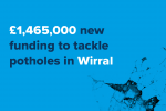 £1.4 million for Wirral's Roads