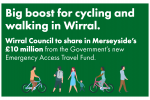 cycling and walking in Wirral